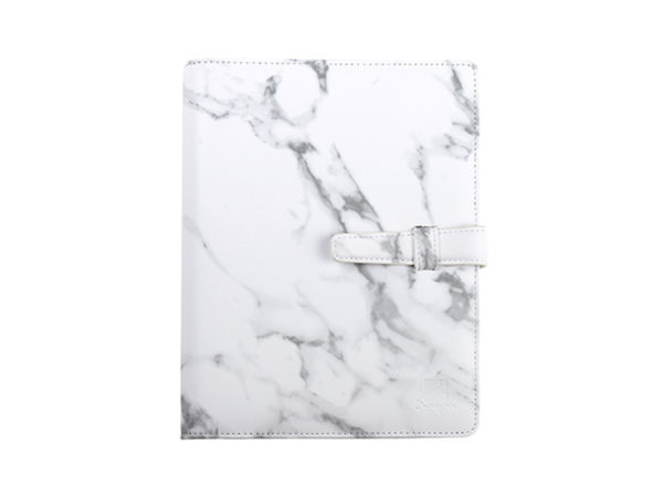 工商日誌,灰色大理石手冊,正視圖
