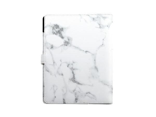 工商日誌,灰色大理石手冊,背面