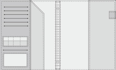 16K COVER 2&3活頁筆記本口袋/夾層版型樣式,16-3