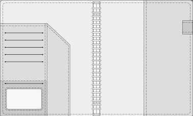 16K COVER 2&3活頁筆記本口袋/夾層版型樣式,16-4