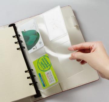可選用文具相關實用品,PVC票據名片收納袋 Colros : 透明